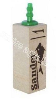 Sander Wooden Air Stone 1, Difuser, Marine, Tropical, Culture, Pump, Fish Tank • EUR 2,83