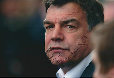 Sam ALLARDYCE Signed Autograph 12x8 Photo AFTAL COA West Ham United MANAGER
