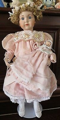 Marie Osmond Virginia and Jordan Mother and Child Porcelain Doll