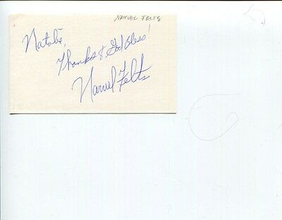 Narvel Felts Reconsider Me Drift Away Country Music Singer Signed Autograph