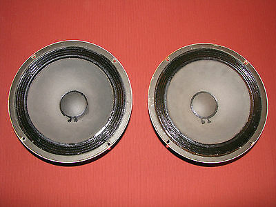 "Pair of vintage Altec 406A alnico 10"" woofers"