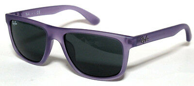 Ray Ban 9057 50 Junior 199/87 Sunglasses Matte Violet Occhiale Sole Bambini