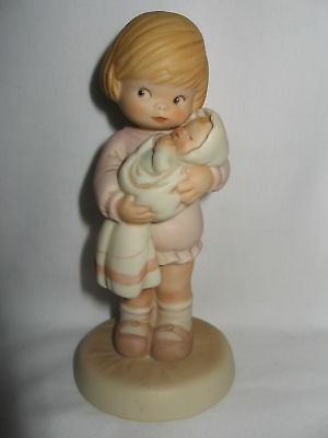 "Enesco Memories Of Yesterday ""mommy Can I Keep Her"""