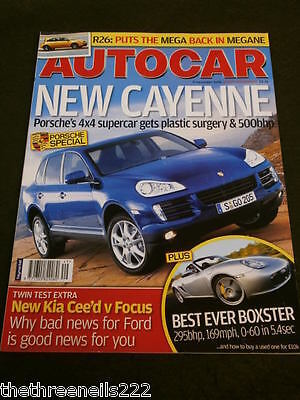 Autocar - New Porsche Cayenne - Dec 6 2006 Vol 250 #10