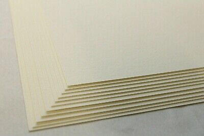 A5, A4, A3 NATURAL SOFT WHITE LAID TEXTURED INVITATION CARD 250gsm 300gsm 350gsm