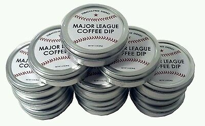 12 Pack Mlb Baseball Coffee Bean Energy Snuff Quit Copenhagen Skoal Cigarettes