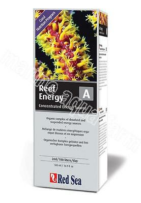 RED SEA REEF ENERGY A (CARBS) 500ml, CORAL FOOD, MARINE AQUARIUM, REEF B FISH