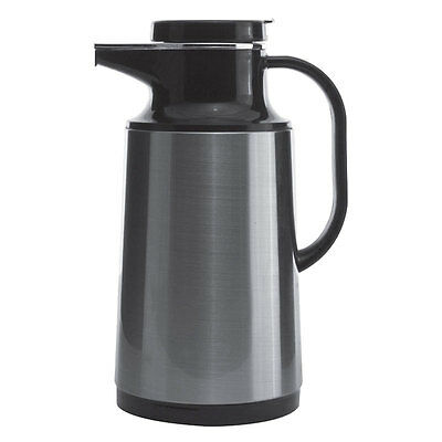Service Ideas (HPS101) 1L Thermal Vacuum Carafe, Brushed Stainless