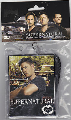 Supernatural Dean Winchester Photo Lanyard Brand New