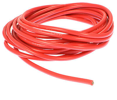 Apex RC Products 10' Red 14 Gauge AWG Super Flexible Silicone Wire #1150