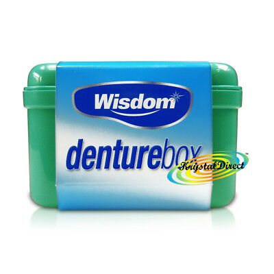 Wisdom Denture Box Storing Dental Tooth False Teeth Storage Case Container