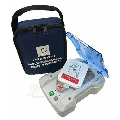 Prestan Professional AED Trainer - CPR Defibrillator Training Unit PP-AEDT-101