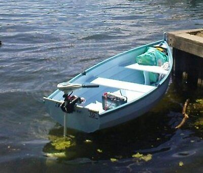 DIY Plans for WINCHELSEA 8 Row/Motor/Sail Dinghy - printed plans & Instructions