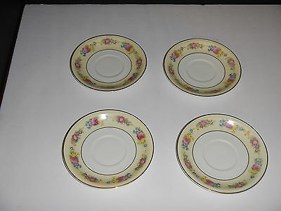 Hutschenreuther Gelb The Chelsea Saucer 5.75 inches