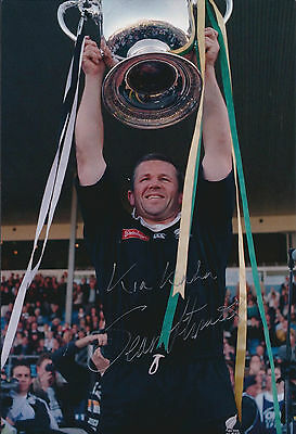 Sean FITZPATRICK Signed Autograph 12x8 Photo AFTAL COA RUGBY New Zealand Captain