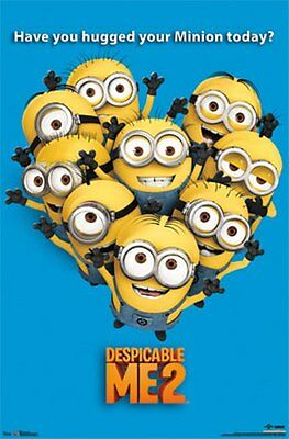 "DESPICABLE ME 2 MINIONS 22"" x 34"" POSTER NIP"