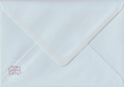 Luxury Thickness White C6 114mm x 162mm 140gsm A6 Size Envelopes