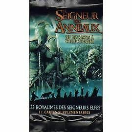 @BRADE LOTR :  LOT 4 BOOSTERS VF Royaumes des Seigneurs Elf@
