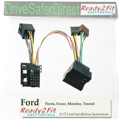 ISO-SOT-092-x Lead,cable,adaptor for Parrot CK3100 Ford Focus