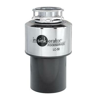 InSinkErator - LC-50 - 1/2 HP Commercial Garbage Disposal Disposer