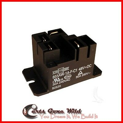 48 Volt Charger Relay for Electric Club Car Golf Cart PowerDrive Battery Charger