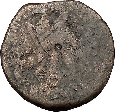 Ptolemy VI Philometor King of Egypt 170BC Ancient Greek Coin Two Eagles i36916