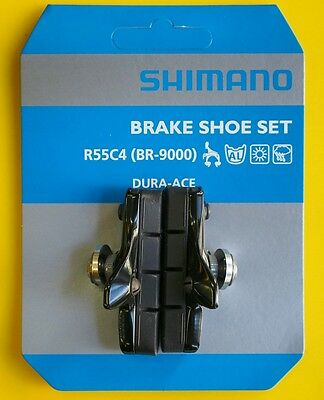 Shimano BR-R9100/9000 R55C4 Cartridge Brake Shoes Pads Set Pair fits Ultegra 105