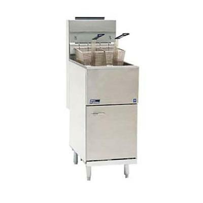 Pitco - 35C+S - Frialator 40 Lb Commercial Deep Fryer