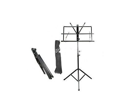 Easy Carry, Foldable Music Stand with Bag, New