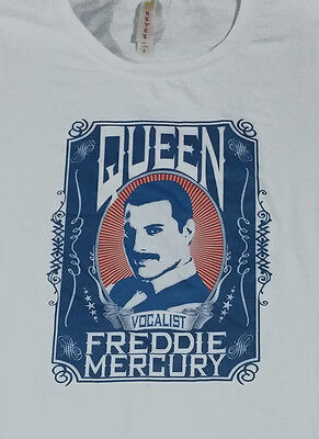 QUEEN custom new T SHIRT freddie mercury glam rock  ent
