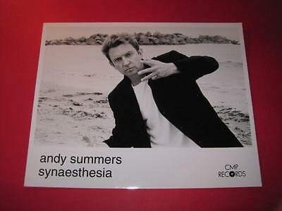 STING ANDY SUMMERS original 10x8 inch promo press photo photograph 3621-23
