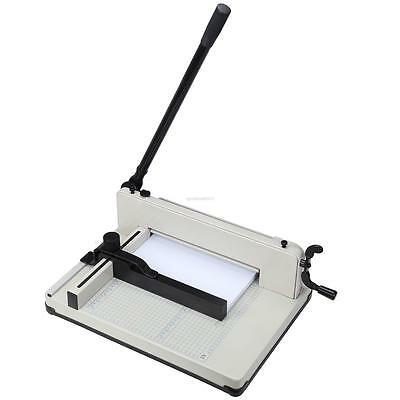 New 12inch A4 Size Heavy Duty All Steel Stack Paper Cutter Guillotine Trimmer R