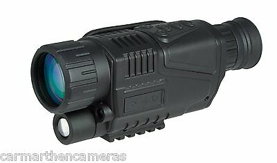 Hawke NV1000 5x40 Night Vision Monocular -- NOW WITH FREE INFRARED TORCH