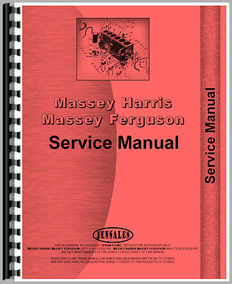 New Massey Ferguson 285 Tractor Service Manual