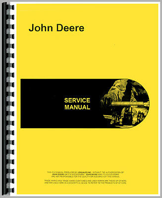 New John Deere 60 Tractor Service Manual