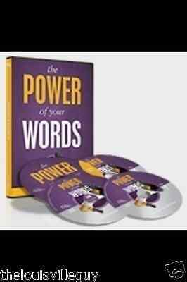 Joel Osteen  - THE Power of Your Words - 3 CDs + Bonus  BRAND new DVD & Sealed