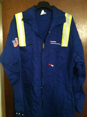 Saf-Tech Fire Resistant Coverall, Rn 98149, Brand New