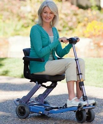 Freerider LUGGIE Standard Folding Travel Senior Mobility Scooter Cart FREE ARMS