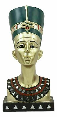 Egyptian Legend Myth Queen Nefertiti Bust Royal Wife Home Decor Figurine Statue