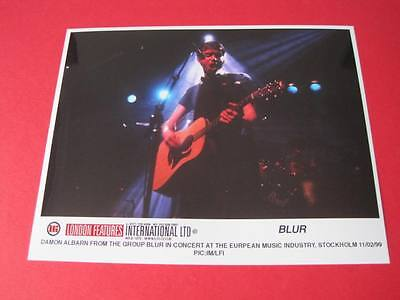 Blur Damon Albarn 10x8 inch lab-printed glossy promo press photo F1_018