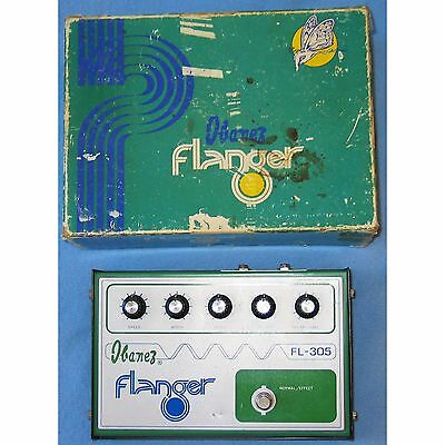 Ibanez FL-305 Flanger Vintage Complete with Original Box and Instructions