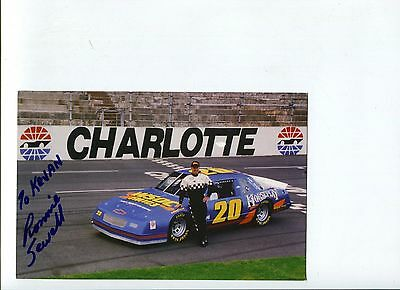 Ronnie Sewell NASCAR USAR Pro Cup Driver Racing Signed Autograph Photo