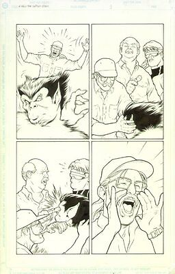 X-Men Untold Story #3 p.? Beast & Cyclops - art by Kevin Maguire