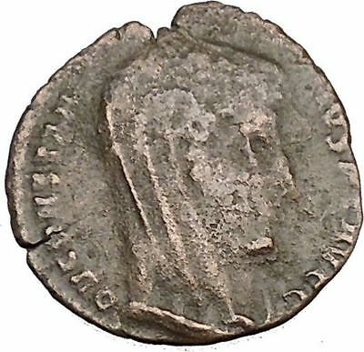 CONSTANTINE I the GREAT Heaven Chariot Ancient Roman Coin Deification  i37509