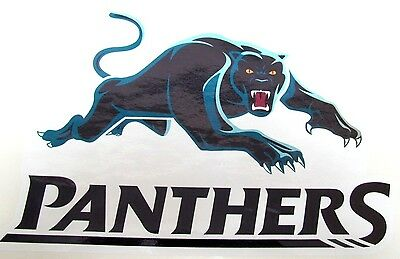 62839 New Logo Penrith Panthers Nrl Team  Large Car Sticker + Free Old Logo