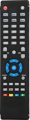 6 in 1 Pre-Programmed & Learning Universal Remote Control A 1012