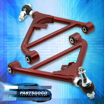 FOR 89-98 NISSAN 240Sx S13/S14/S15 Rear Lower Control Arm Lca Red Durable  A-Arm