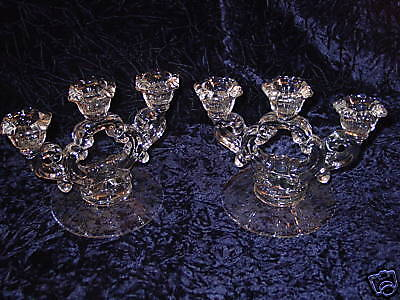 Cambridge Chantilly Candle Holders / Candleabra Set