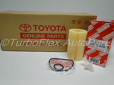 Toyota Genuine OEM Oil Filter 04152-YZZA4 Pack of 10