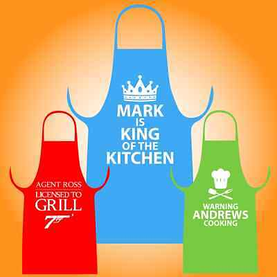 Personalised Aprons for Men | The Perfect, Unique and Customised Gift for Cooks